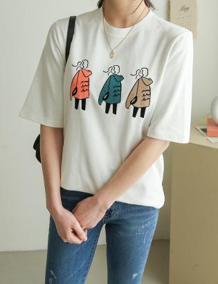 Three Musketeer T-shirt C030905