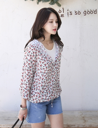 Leafberry Hooded Shirt MA05224