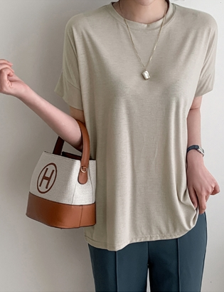 [ckak:kan1+1] Bi-drop T-shirt C041317