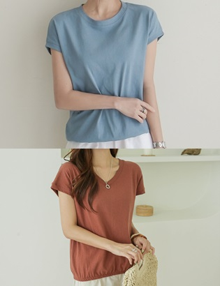 [ckak:kan1+1] Flesh Cover T-shirt